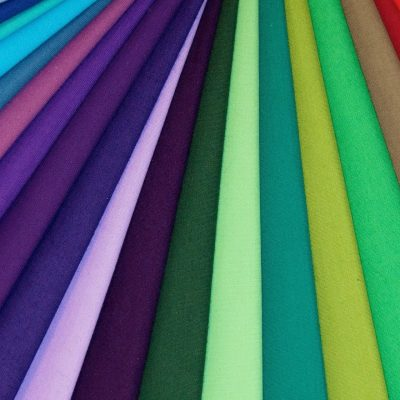 Poplin Cotton Fabric Colours