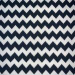 Chevron Yarn (Dyed Black and White)