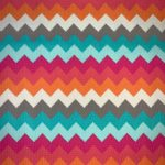 Yarn Dyed Multicolour Chevron