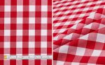 Table Cloth Red White Check