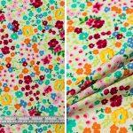 Small Multi Floral Garden - Cream