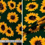 Sunflowers - Green