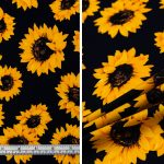 Sunflowers - Navy
