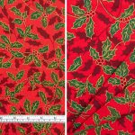 Christmas Holly Large Red
