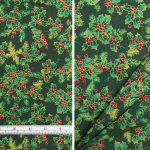 Christmas Holly Small Green