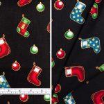 Christmas Stocking Black