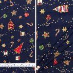Christmas Trees Navy