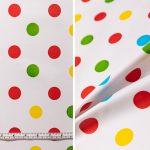 Confetti Spots - Red